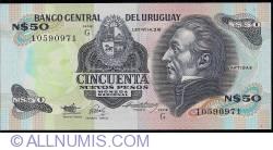 Image #1 of 50 Nuevos Pesos ND(1989) - Serie G