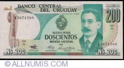 Image #1 of 200 Nuevos Pesos ND(1986) - Serie A