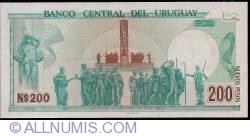 Image #2 of 200 Nuevos Pesos ND(1986) - Serie A