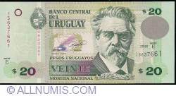 Image #1 of 20 Pesos Uruguayos 2008