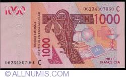Image #1 of 1000 Francs 2003/(20)06