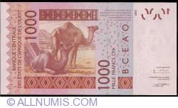 Image #2 of 1000 Francs 2003/(20)06