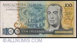 Imaginea #1 a 100 Cruzados ND (1987) - semnături Dilson Domingos Funaro/ Fernão Carlos Botelho Bracher