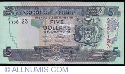 Image #1 of 5 Dollars ND (2006) - 1