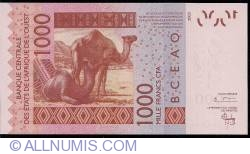 Image #2 of 1000 Francs 2003/(20)04