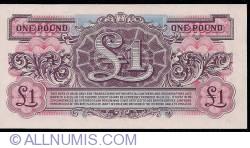 Image #2 of 1 Pound ND (1948)