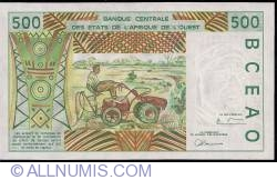 Image #2 of 500 Francs (19)97