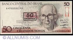 Image #1 of 50 Cruzeiros on 50 Cruzados Novos ND (1990)