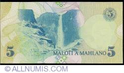 Imaginea #2 a 5 Maloti 1989