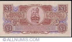 Image #2 of 1 Pound ND (1956)