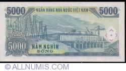 Imaginea #2 a 5000 Dong 1991 (1993)
