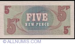 Image #2 of 5 New Pence ND (1972)