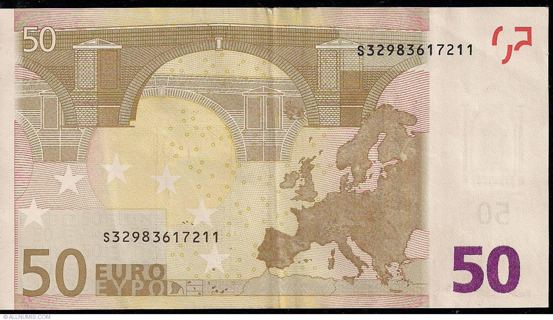50 euro 2002 s italy 2002 issue 50 euro signature for Wohnwand 50 euro