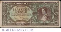 Imaginea #1 a 100000 Pengő 1945 (23. X.)