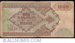 Imaginea #2 a 1000 Manat ND (1993)