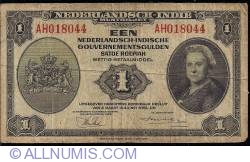 Imaginea #1 a 1 Gulden 1943 (2. III.) - 1