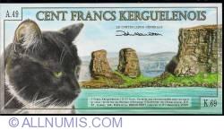Image #2 of 100 Francs 2010