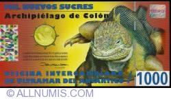 Image #1 of 1000 Nuevos Sucres 2009