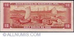 10 Soles de Oro 1971