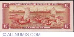 10 Soles de Oro 1972 (4. V.)