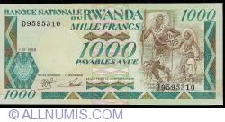 1000 Francs 1988