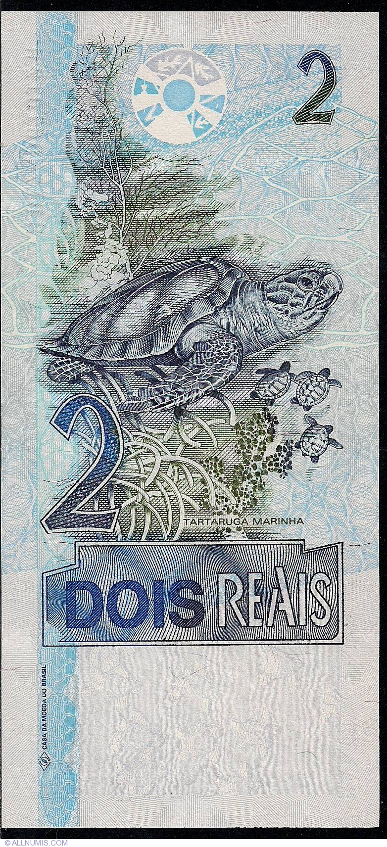 2 Reais ND(2001- ), 2001-2002 Issue - Brazil - Banknote - 1703