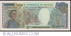 Image #1 of 5000 Francs 1988