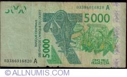 Image #1 of 5000 Francs 2003/2003