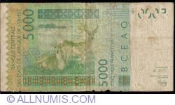 Image #2 of 5000 Francs 2003/2003