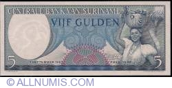 Image #1 of 5 Gulden 1963 (1. IX.)