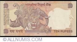 Imaginea #2 a 10 Rupees 2009 - L