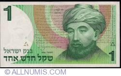 "Image #1 of 1 New Sheqel 1986  (JE5746 - התשמ""ו)"