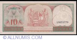 Image #2 of 10 Gulden 1963 (1. IX.)