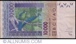 Image #2 of 10000 Francs 2003/2004
