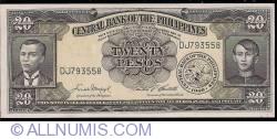 Imaginea #1 a 20 Pesos ND (1949)