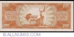 Imaginea #2 a 20 Pesos ND (1949)