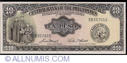 Imaginea #1 a 10 Pesos ND (1949)