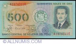 Image #1 of 500 Soles de Oro 1982 (18. III.)