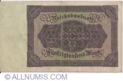 Image #2 of 50000 Mark 1922 (19. XI.)