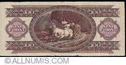 Imaginea #2 a 100 Forinţi 1992 (15. I.)