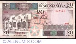 Image #1 of 20 Shilin=20 Shillings 1989