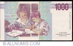 Image #2 of 1000 Lire 1990
