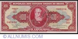 Image #1 of 10 Centavos on 100 Cruzeiros ND (1966)