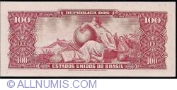Image #2 of 10 Centavos on 100 Cruzeiros ND (1966)