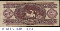 Imaginea #2 a 100 Forinţi 1993 (16. XII.)