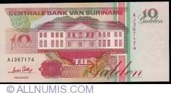Image #1 of 10 Gulden 1996 (1. XII.)