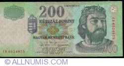 Imaginea #1 a 200 Forint 2003