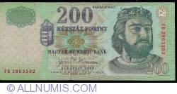Imaginea #1 a 200 Forint 2004