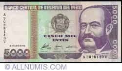 5,000 Intis 1988 (28. VI.)