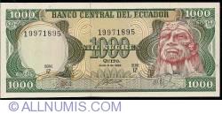 Imaginea #1 a 1000 Sucres 1988 (8. VI.) - Serie IZ